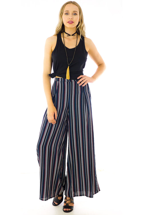 The Business Stripe Palazzo Pants