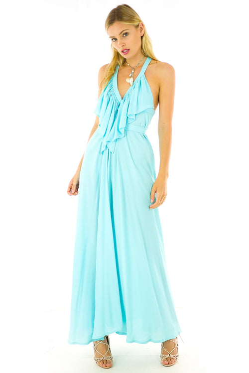 Belle Starr Maxi Dress Pariba Blue