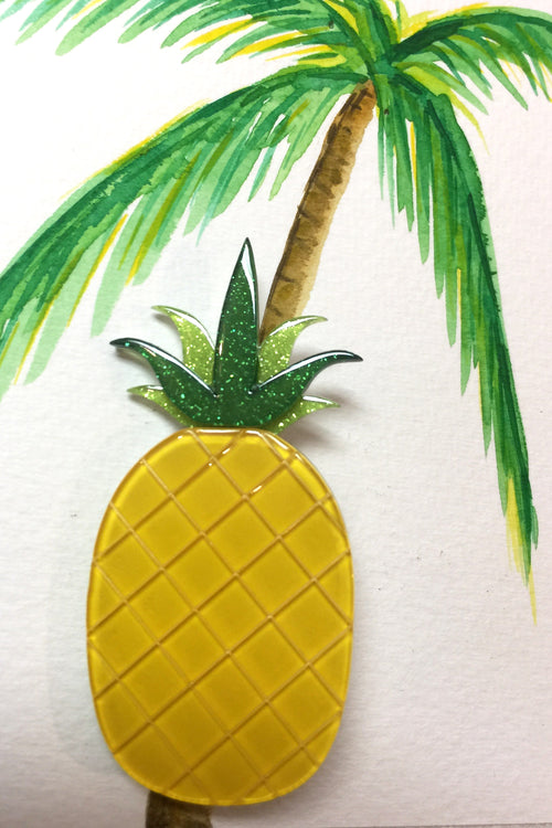 Pineapple Express Erstwilder Brooch