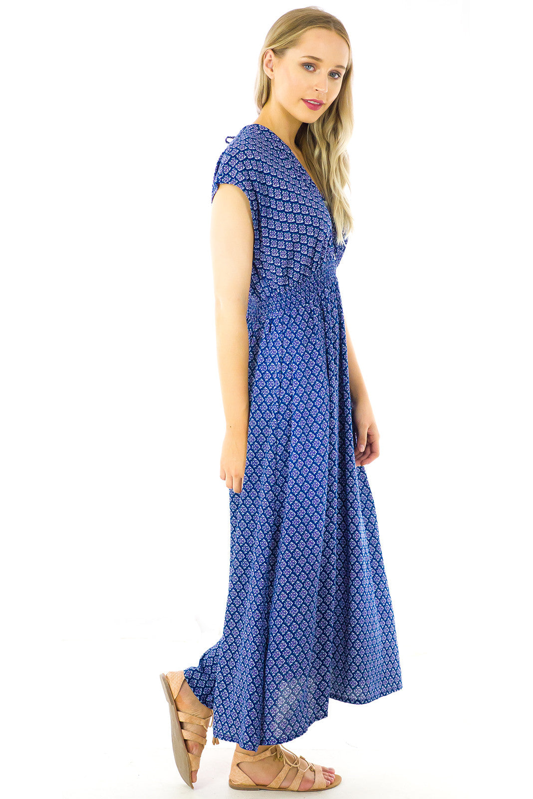 Stevie Navy Maxi Dress