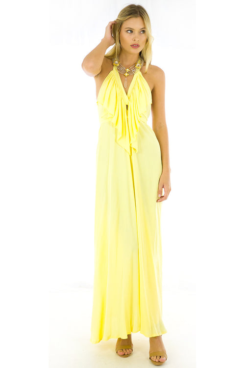 Belle Starr Maxi Dress Sunshine Yellow