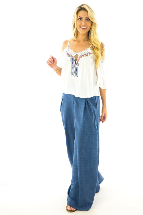 Tivoli Pants Chambray