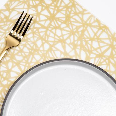 Placemat : Twine – Gold