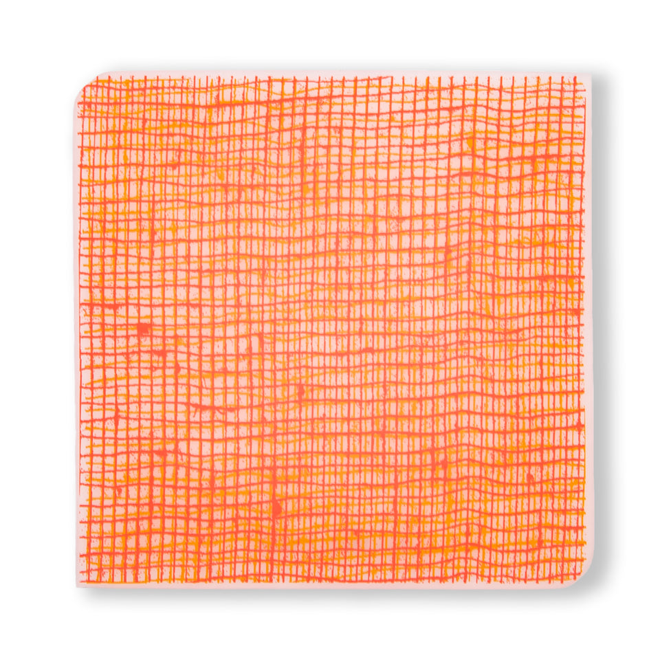 Coasters : Linen - Tangerine Set of 4