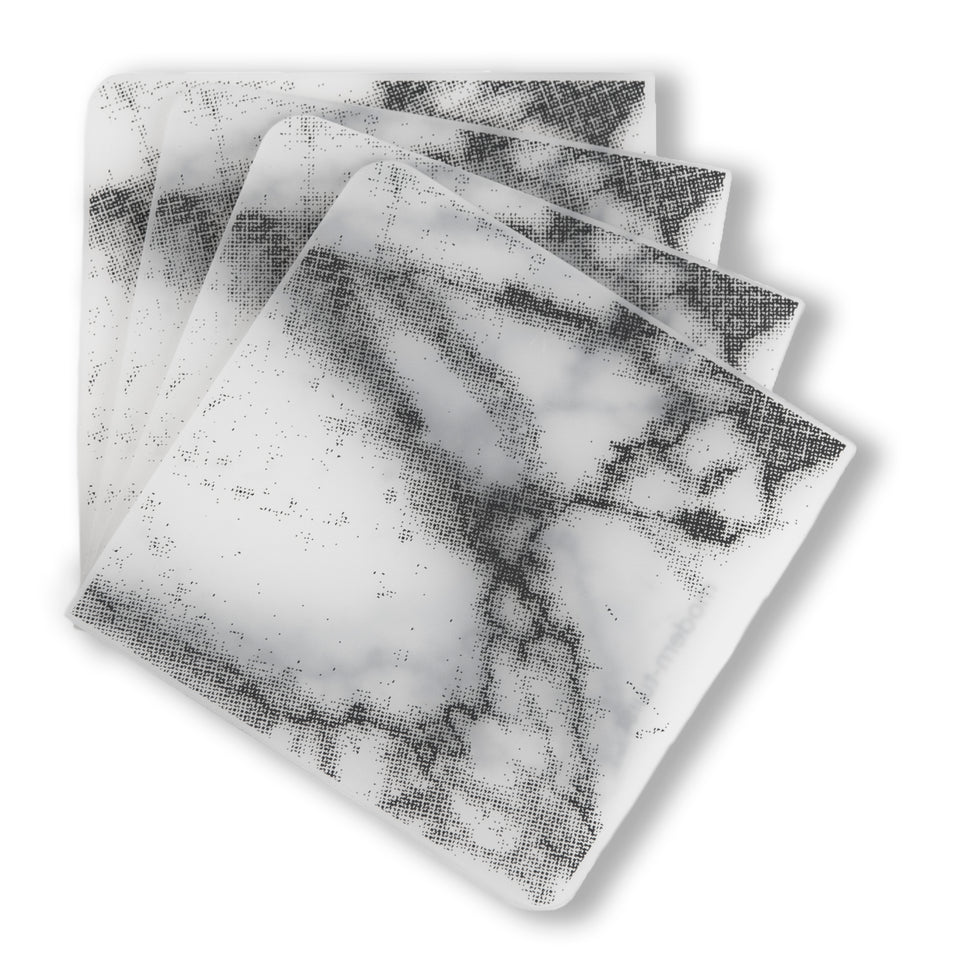Coasters : Marble - Grey Set of 4