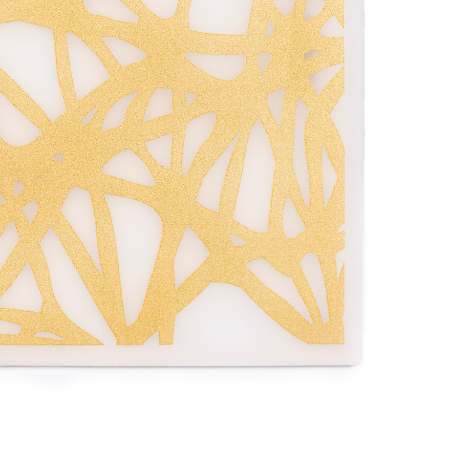 Coasters : Twine - Gold Set of 4