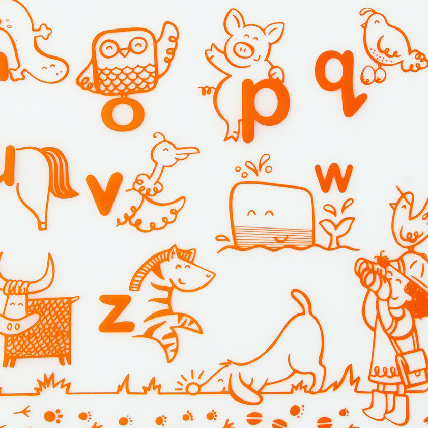Mark-Mat : Alphabet Animals - Orange