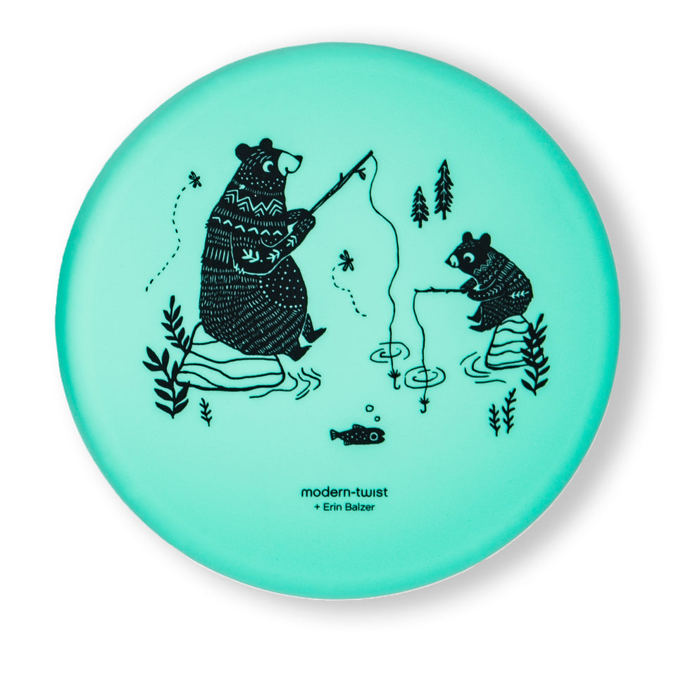 Meal Set: Bear Family - Green