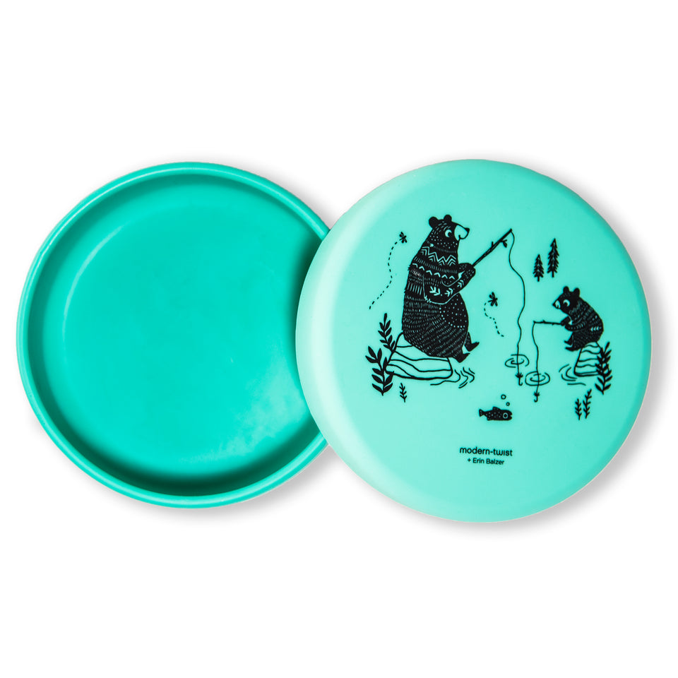 Meal Set : Bear Family - Green