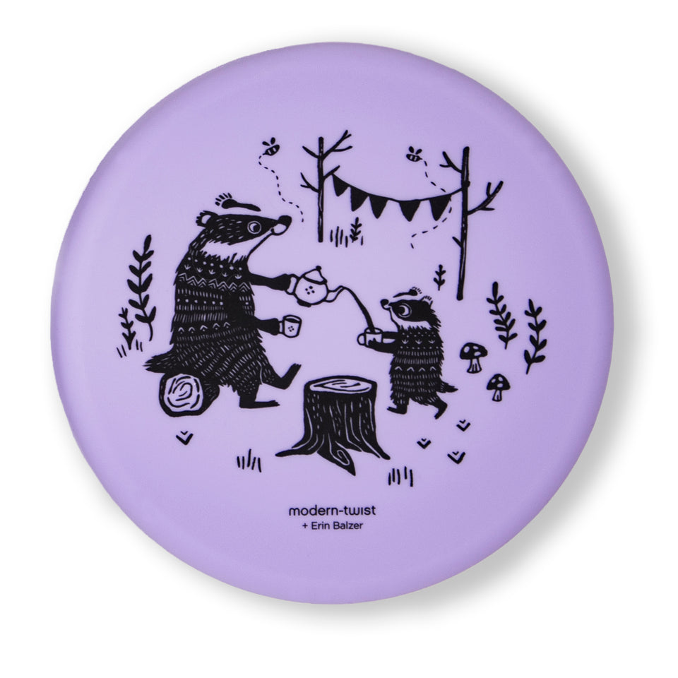 Meal Set : Badger Family - Lavender