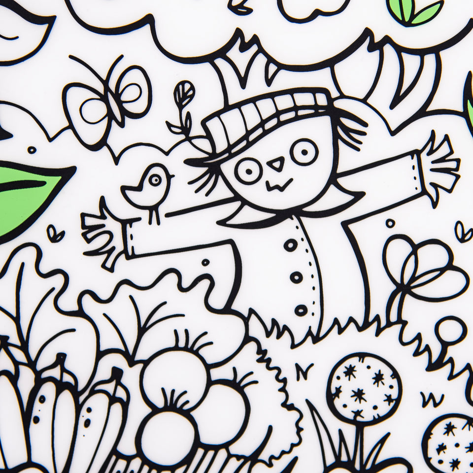 Mark-Mat Set : Garden Play + 3 Markers
