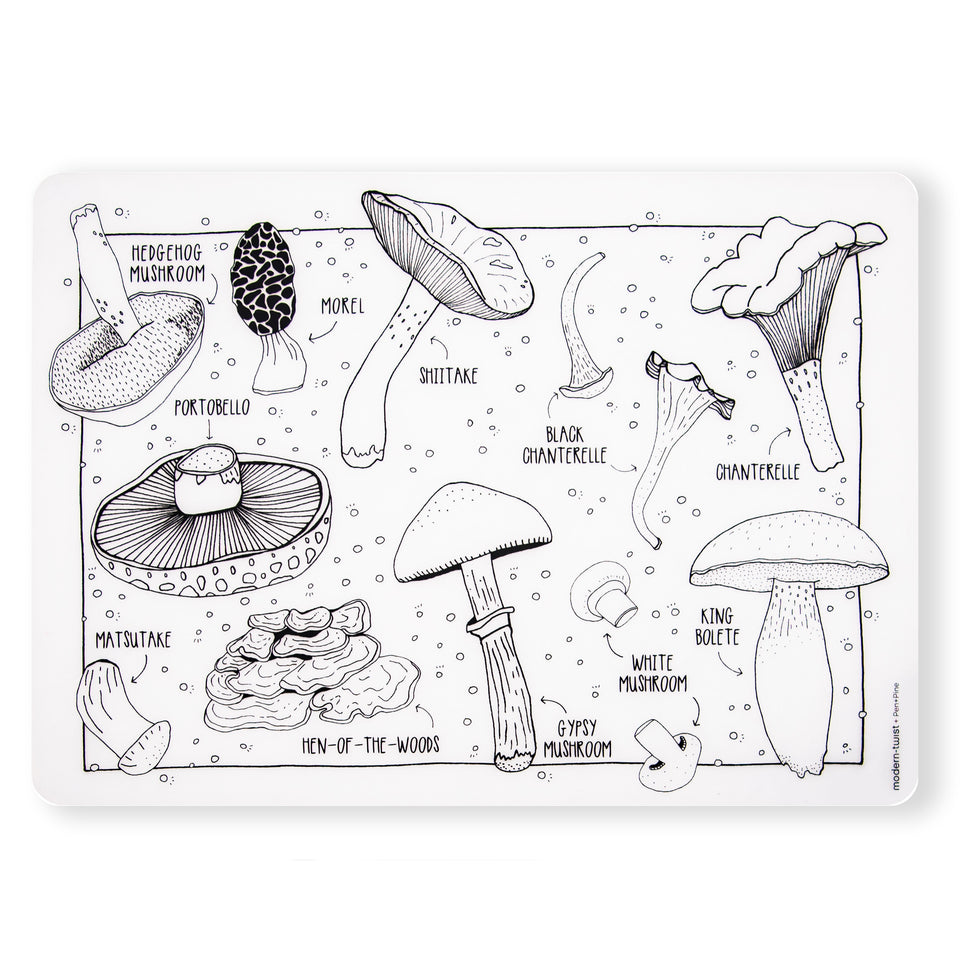 Mark-Mat : Mighty Mushrooms