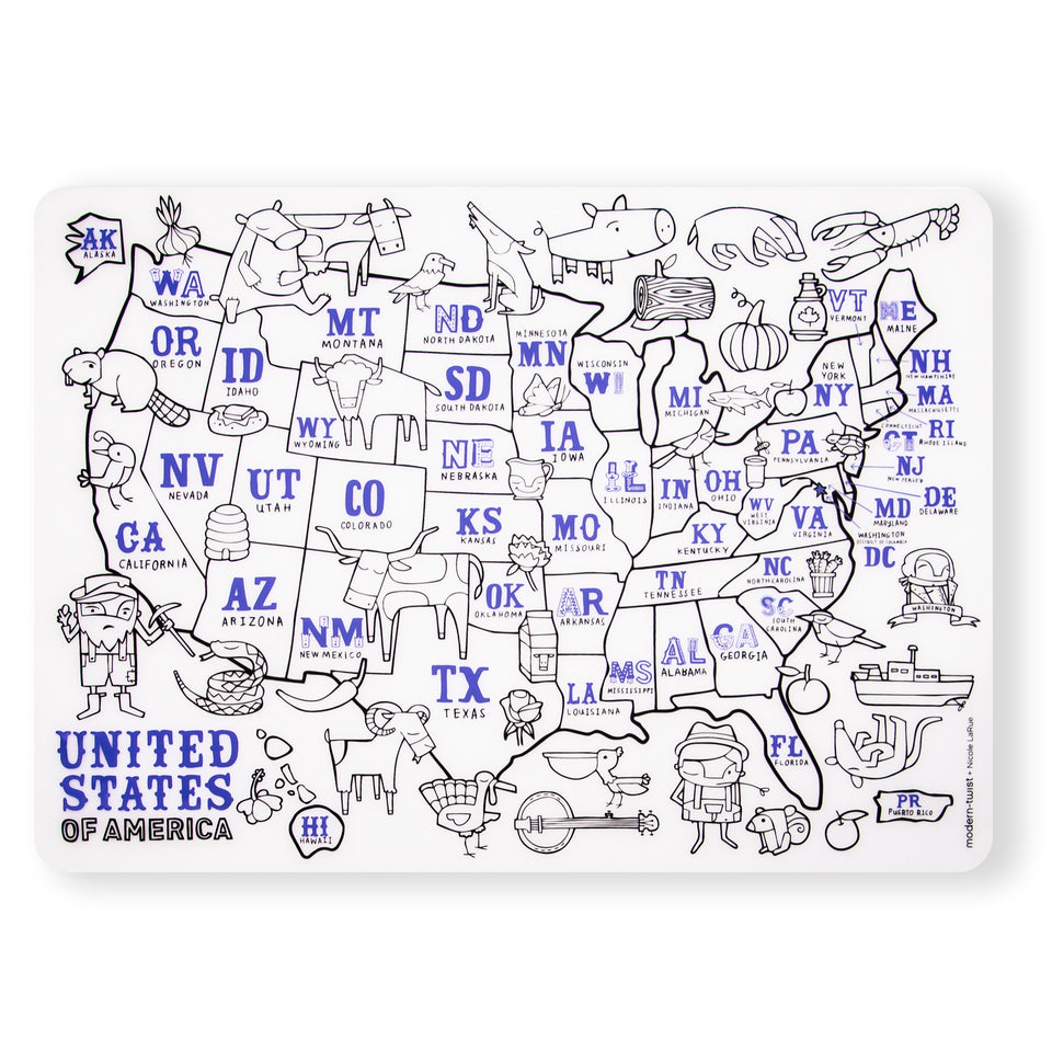 Mark-Mat : USA Map