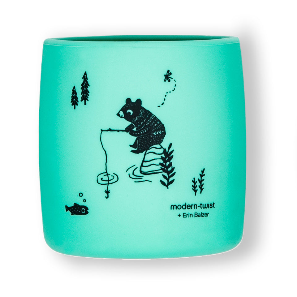 Sip Set : Bear Family - Mint