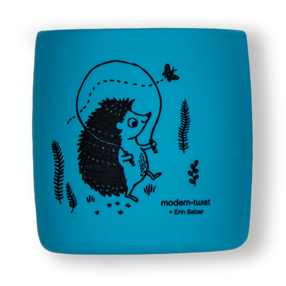 Sip Set : Hedgehog Family - Cornflower