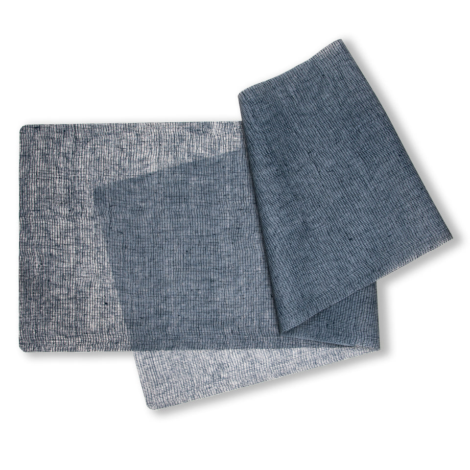 Table-Runner : Linen - Denim