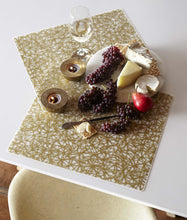 Placemat : Gold Twine