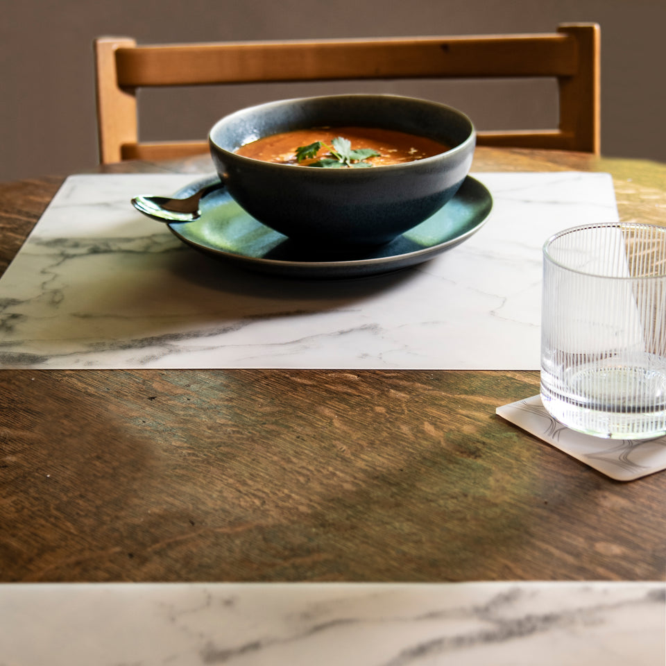 Placemat : Marble - Grey