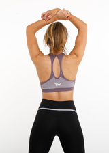EMPOWER SEAMLESS SPORTS BRA - PURPLE