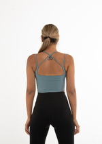 COMPRESS LONG LINE SPORTS BRA - MINT