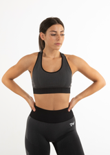 SEAMLESS FORCE SPORTS BRA - CHARCOAL