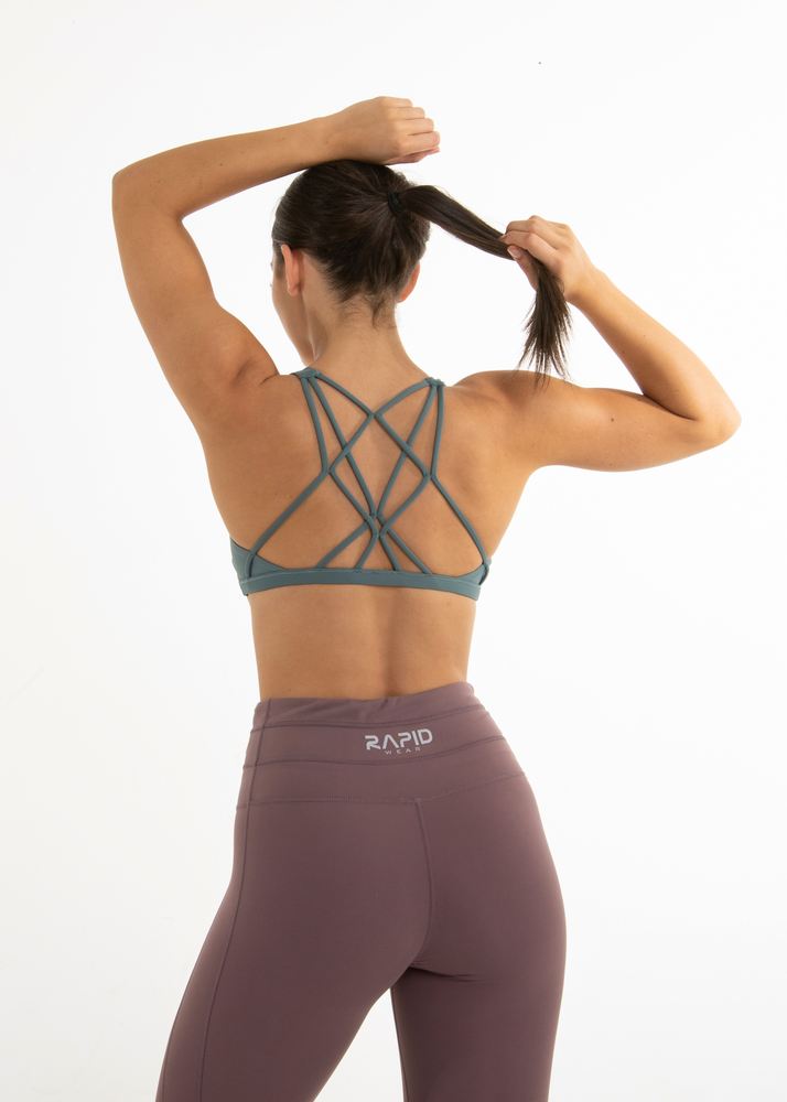 Load image into Gallery viewer, SWEAT IT SPORTS BRA - MINT