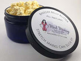 Included in our gift set is this all natural stretch mark cream, Breeder Belly Butter