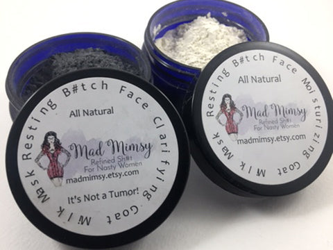 Fix Your Face Bundle - Resting B#tch Face -  Moisturizing Face Mask & Clarifying Face Mask