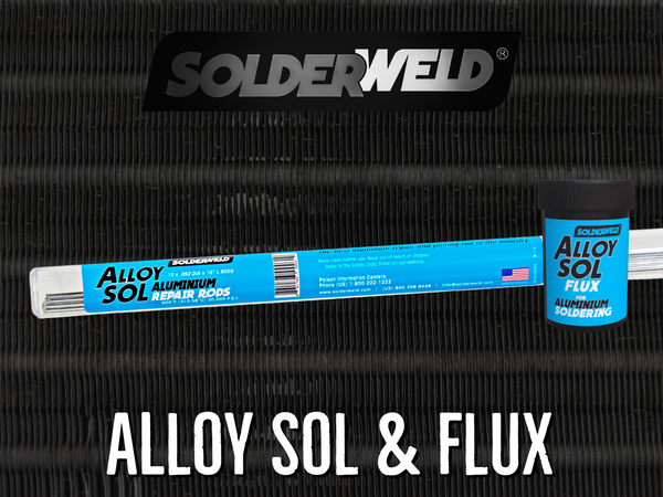 Alloy Sol - Aluminum Repair and Joining Rods and Flux - SolderWeld