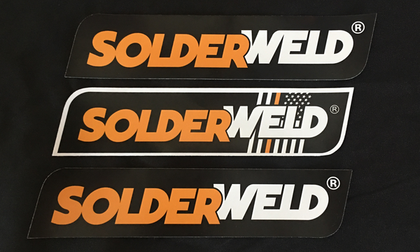 SolderWeld Stickers