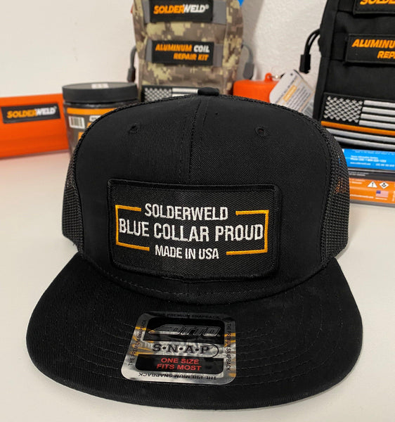 Blue Collar Proud-Snap Back Hat Collection! - SolderWeld