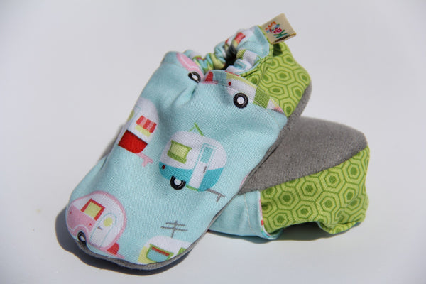 Little Campers Soft Sole Baby Shoes