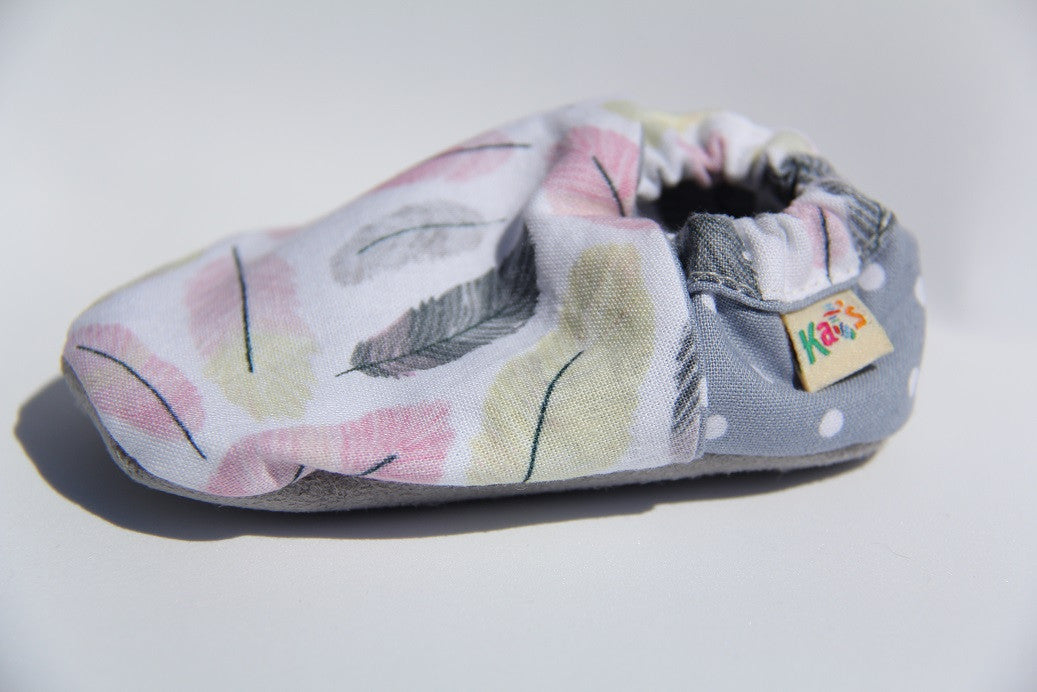 Soft Feathers Soft Sole Baby Shoes