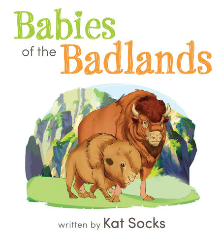 "Wholesale- Babies of the Badlands - 8.5"" x 8.5"" Board Book"
