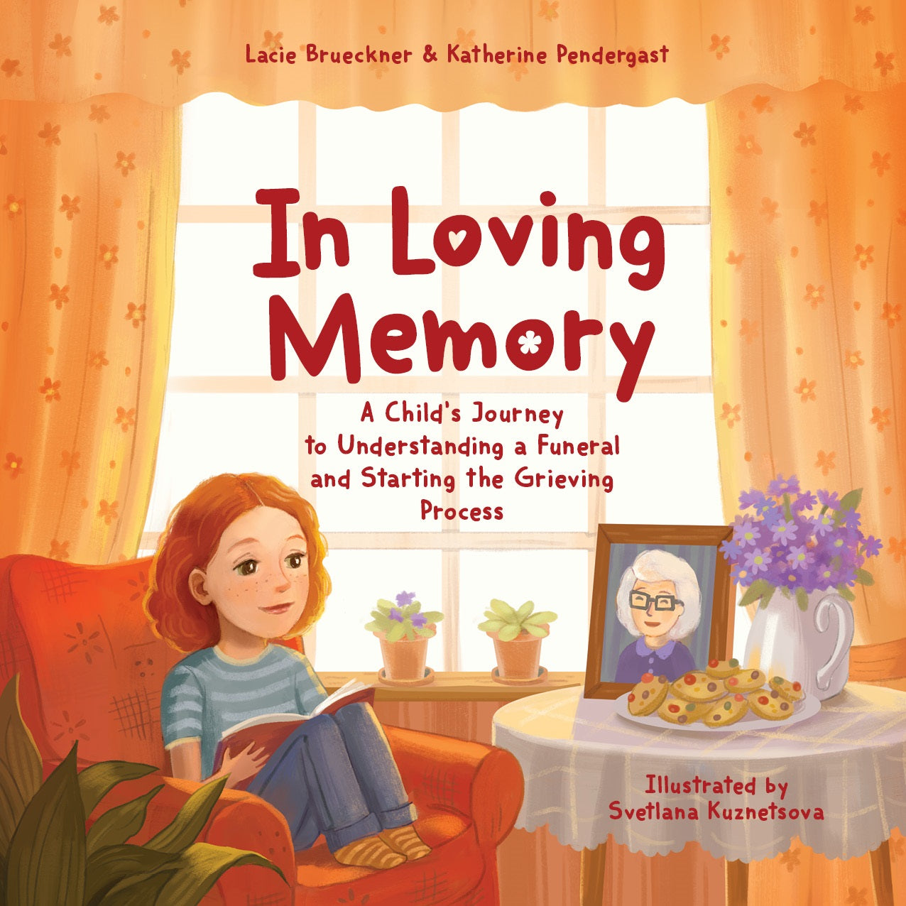 Softcover In Loving Memory: A Child's Journey to Understanding a Funeral and Starting the Grieving Process