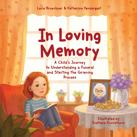 Wholesale- Softcover In Loving Memory: A Child's Journey to Understanding a Funeral and Starting the Grieving Process