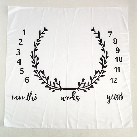 Milestone Photo Blanket