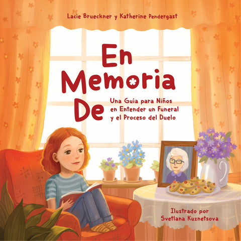 Spanish Version: Softcover In Loving Memory: A Child's Journey to Understanding a Funeral and Starting the Grieving Process