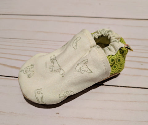 Pickles the Dog Soft Sole Baby Shoes