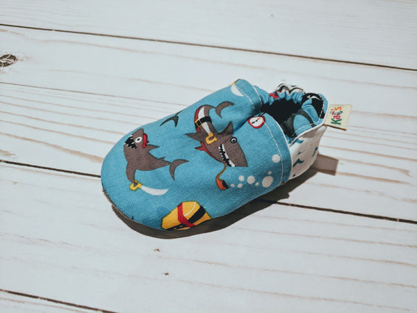 Baby Sharks Soft Sole Baby Shoes