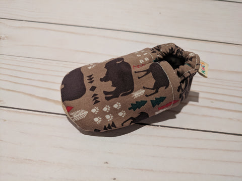 Bowden's Wild Soft Sole Baby Shoes