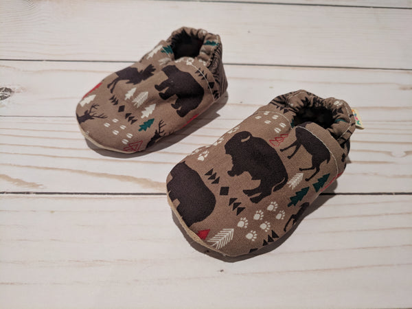 Wild Life Soft Sole Baby Shoes