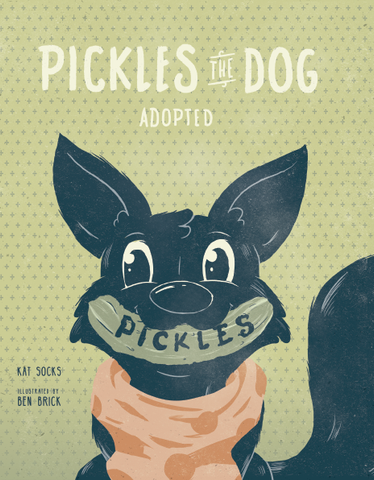 Wholesale- Hardcover Pickles The Dog Adopted