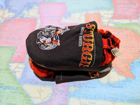 Sturgis Motorcycle Soft Sole Baby Shoes