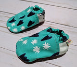 Desi's Blues Soft Sole Baby Shoes