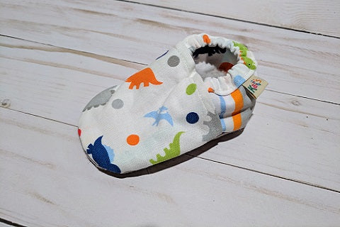 Dinosaurs Soft Sole Baby Shoes
