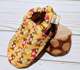 Lexi's Mini Fox Soft Sole Baby Shoes