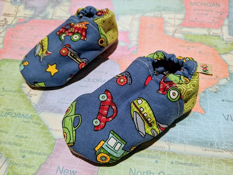 Things That Go Soft Sole Baby Shoes