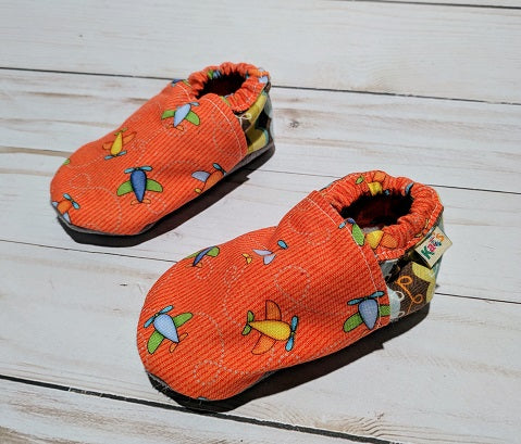 Airplane Soft Sole Baby Shoes