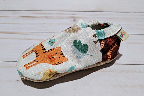 Doug's Silly Safari Soft Sole Baby Shoes